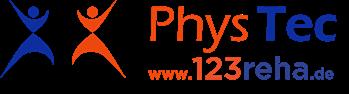 PhysTec - Tecar Thrapie, TENS, EMS, Magnetfeldtherapie und Ultraschall Logo